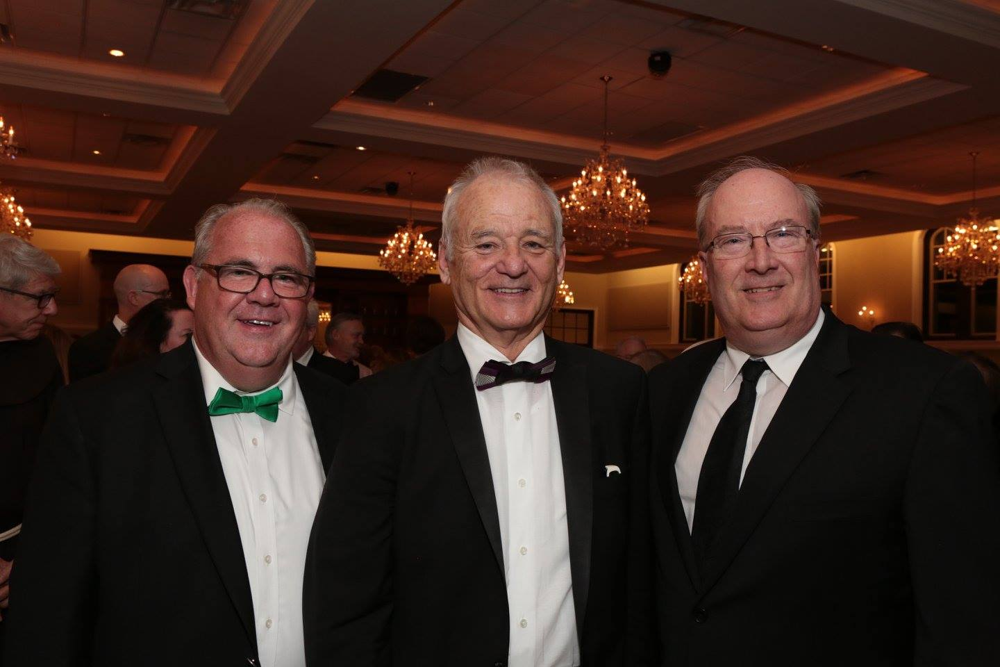 Bill Murray Gene Cooney at Gala